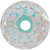 Swarovski 5041 Large Hole Briolette Bead Crystal AB 12mm