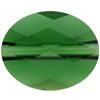Swarovski 5051 Mini Oval Bead Dark Moss Green 10x8mm