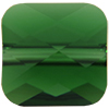 Swarovski 5053 Mini Square Bead Dark Moss Green 6mm