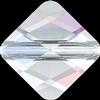Swarovski 5054 Mini Rhombus Bead Crystal AB 6mm