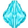 Swarovski 5058 Baroque Bead Aquamarine 10mm