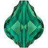 Swarovski 5058 Baroque Bead Emerald 10mm