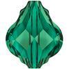 Swarovski 5058 Baroque Bead Emerald 14mm