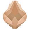 Swarovski 5058 Baroque Bead Crystal Rose Gold 2X 10mm