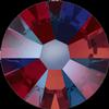 Swarovski 2058 XILION Rose Flat Back Siam Shimmer SS5