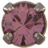 Swarovski 53200 Chaton Montees 31pp Antique Pink/Gunmetal