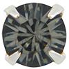 Swarovski 53201 Chaton Montees ss18 Black Diamond