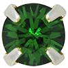 Swarovski 53201 Chaton Montees ss18 Fern Green