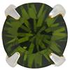 Swarovski 53201 Chaton Montees ss18 Olivine