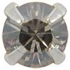 Swarovski 53201 Chaton Montees ss18 Crystal Silver Shade