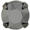 Swarovski 53203 Chaton Montees ss29 Light Chrome/Gunmetal