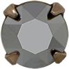 Swarovski 53203 Chaton Montees ss29 Light Chrome/Rose Gold