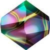 Swarovski 5328 Bicone Bead Crystal Rainbow Dark 2X 5mm
