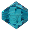 Swarovski 5301 Bicone Bead Blue Zircon 4mm