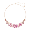 Swarovski Collections - Lilia Necklace, Large, Multi-Colored, Rose Gold Plating