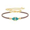 Swarovski Collections - Labyrinth Cord Bracelet, Multi-Colored, Gold Plating