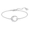 Swarovski Collections - Crescent and Star Bracelet, Crystal, Rhodium Plating