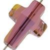 Swarovski 5378 Cross Bead Crystal Lilac Shadow 14mm