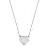 Swarovski Collections - Hall Heart Pendant, Crystal, Rhodium Plating