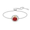 Swarovski Collections - Lena Apple Bracelet, Red, Mixed Plating