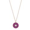 Swarovski Collections - Locket Pendant, Pink, Rose Gold Plating