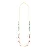 Swarovski Collections - Attract Strandage Necklace, Multi-Colored, Gold Plating