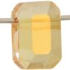 Swarovski 5514 Pendulum Bead Crystal Metallic Sunshine 10x7mm