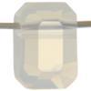 Swarovski 5514 Pendulum Bead White Opal 10x7mm