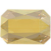 Swarovski 5515 Emerald Cut Bead Crystal Metallic Sunshine 14x9.5mm