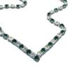 Rhinestone Necklace Crystal and Emerald