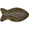 Swarovski 5727 Fish Bead Crystal Bronze Shade 14mm