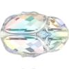 Swarovski 5728 Scarab Bead Crystal AB 12mm