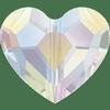 Dreamtime Crystal DC 5741 Love Bead Crystal AB 8mm