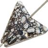 Swarovski 5748 Arrow Bead Crystal Black Patina 16mm