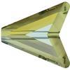Swarovski 5748 Arrow Bead Crystal Iridescent Green 16mm