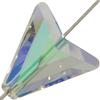 Swarovski 5748 Arrow Bead Crystal Paradise Shine 16mm