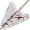 Swarovski 5748 Arrow Bead Crystal White Patina 16mm