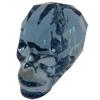 Swarovski 5750 Skull Bead Denim Blue 19mm