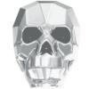 Swarovski 5750 Skull Bead Crystal Light Chrome 2X 19mm