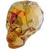 Swarovski 5750 Skull Bead Mahogany 13mm