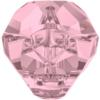 Swarovski 5751 Panther Bead Crystal Antique Pink 19mm