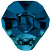 Swarovski 5751 Panther Bead Crystal Metallic Blue 2X 14mm