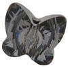 Swarovski 5754 Butterfly Bead Crystal Silver Night 12mm
