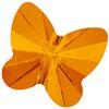 Swarovski 5754 Butterfly Bead Tangerine 8mm