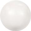 Swarovski 5809 No-hole Pearl White 3mm