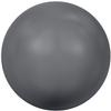 Swarovski 5810 Round Pearl Bead Dark Grey 6mm