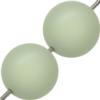 Swarovski 5811 Round Large Hole Pearl Bead Pastel Green 14mm