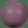 Dreamtime Crystal DC 5810 Round Pearl Bead Burgundy 4mm