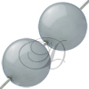 Swarovski 5810 Round Pearl Bead Light Grey 3mm