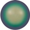 Swarovski 5818 1/2 Drilled Round Pearl Scarabaeus Green 10mm